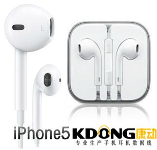 苹果iphone5耳机KD15-021