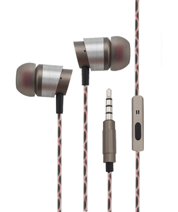 金属耳机A8蛇皮线